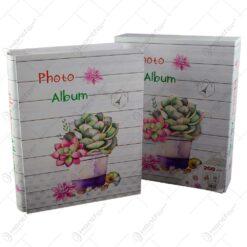 Album pentru fotografii - Design Floral cu cladiri renumite - Diverse modele