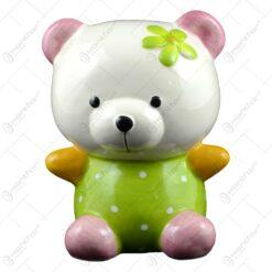 Pusculita din ceramica in forma de ursulet - 2 modele