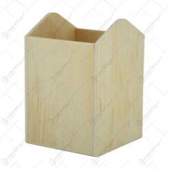 Suport pentru instrumete de scris realizat din lemn - Hobby
