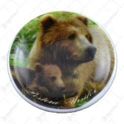 Ornament realizat din ceramica - Design Ursi - Pestera Ursilor