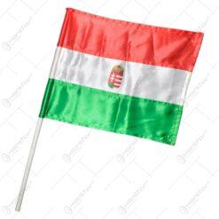 Steag cu stema bat - Design Ungaria