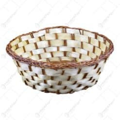 Cos impletit realizat din bambus