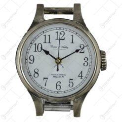Ceas de perete metalic - Design ceas de mana