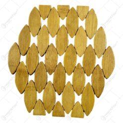 Suport pentru oale realizat din bambus