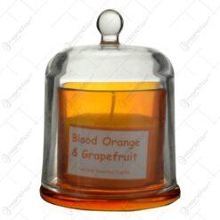 Lumanare parfumana in suport de sticla - Diferite arome