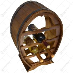 Suport lemn pentru 8 sticle vin