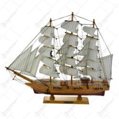 Ornament realizat din lemn - Vapor - Diverse modele (Model 4)