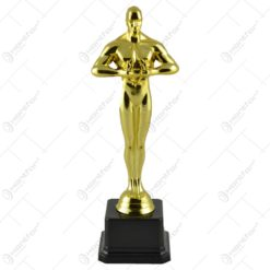 Statueta Oscar realizata din material plastic (20 CM)