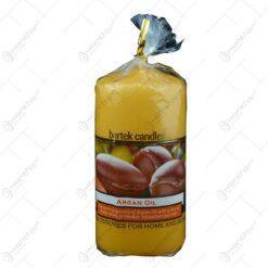 Lumanare parfumata cilindrica - Ulei de argan