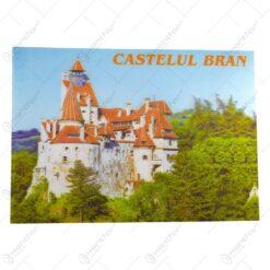 Suport pentru farfurii realizat din plastic - Vlad Tepes/Castelul Bran (2 modele)