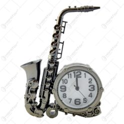 Ceas de masa - Design cu saxofon (Model 1)