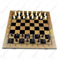 Joc sah/table realizat din lemn (Model 2)