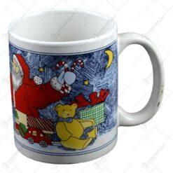 Cana de craciun realizata din ceramica - Design Christmas