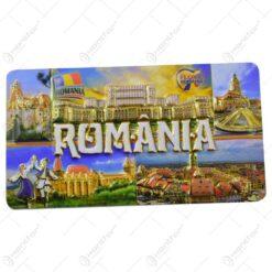 Magnet pentru frigider realizat din plastic - Design Romania - 2 modele