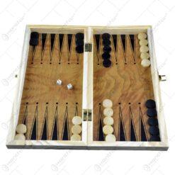 Joc sah/table realizat din lemn (Model 1)