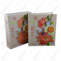Album pentru fotografii - Design Floral - Diverse modele (Model 2)