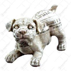 Figurina realizata din ceramica in forma de catel - Design Ziar