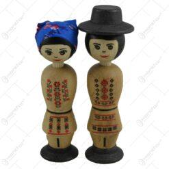 Mascota realizata din lemn - Design traditional romanesc - 2 modele