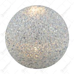Glob cu led realizat din plastic