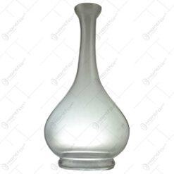 Vaza din sticla pentru decoratiuni florale 30cm