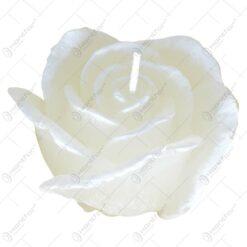 Lumanare in forma de trandafir - 2 culori (Model 1)