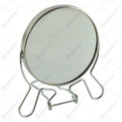 Oglinda tip stativ cu rama realizata din inox - Design Elegant (Tip 1)