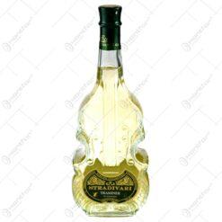 Vin alb demisec Stradivari in sticla cu forma de vioara (0.75L)