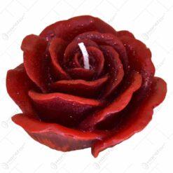 Lumanare in forma de trandafir - 2 culori (Model 2)