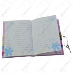Notes cu spirala - Design cu zana si flori - Diverse modele
