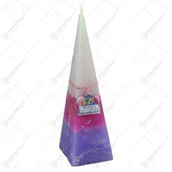 Lumanare parfumata in forma de piramida - Design Berries Ice Cream