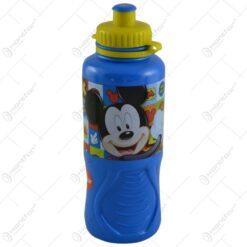 Plosca pentru copii realizata din plastic - 400 ml - Design Micky Mouse