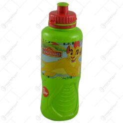 Plosca pentru copii realizata din plastic - 400 ml - Design Lion Guard