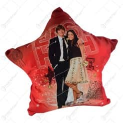 """Perna decorativa realizata din material textil in forma de stea - Design """"High School Musical 2"""""""