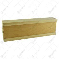 Joc remi realizat din plastic in cutie de lemn
