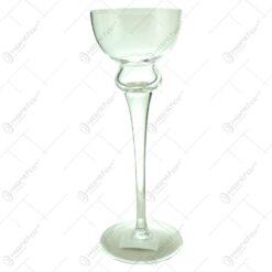 Sfesnic din sticla de dimensiunea 30cm