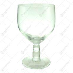 Pahar orval realizat din sticla - 24 cm