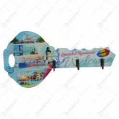 Suport pentru chei realizat din lemn - Design Romania - Diverse modele