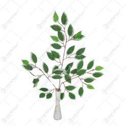 Creanga artificiala cu frunze de ficus (Model 2)