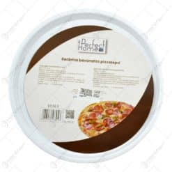 Tava rotunda pentru pizza realizata din ceramica