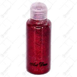 Glitter pentru decoratiuni - Rosu