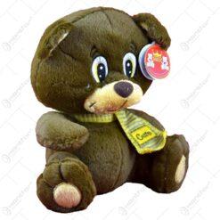 Ursulet realizat din plus cu esarfa (Model 1)