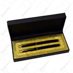 Set 2 stilouri in cutie cadou