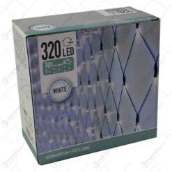 Instalatie cu 320 de leduri pentru interior si exterior - Alb rece