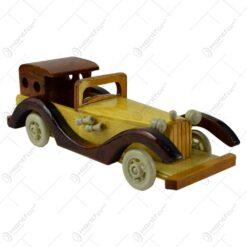 Masinuta realizata din lemn - 2 modele
