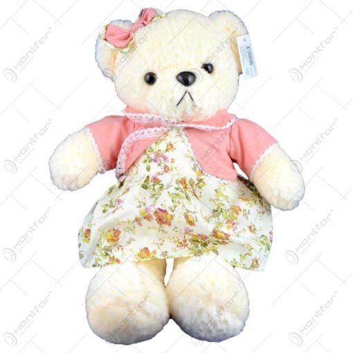 Ursulet realizat din plus - 2 modele (fetita/baiat) (Model 3)