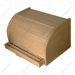 Cutie pentru paine realizata din lemn