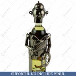 Suport pentru vin realizat din metal - Mecanic