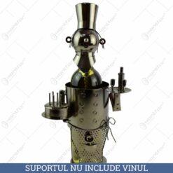 Suport pentru vin realizat din metal - Chelner
