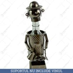 Suport pentru vin realizat din metal - Gradinar
