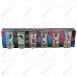 Pahare cu imagine de femeie termice in cutie decorativa II. - Strip Club